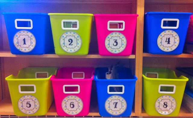 Fun With Firsties: all about Math Tubs! ...how I plan, organize, & run them