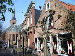Home exchange in Holland , Wassenaar.  This is the center of Wassenaar.
