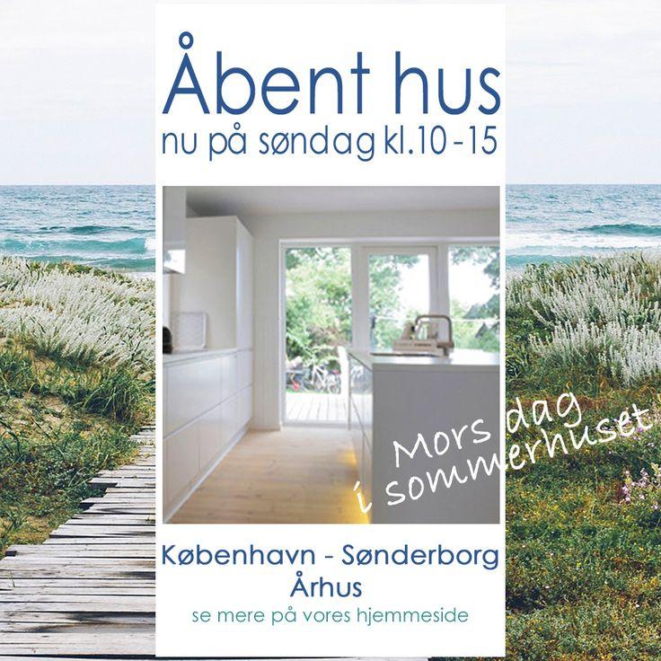Velkommen igen til åbent hus nu på søndag den 10. maj kl. 10-15 i byerne København - Sønderborg - Aarhus. Vi glæder os til at hilse på jer til en køkkensnak. :-)