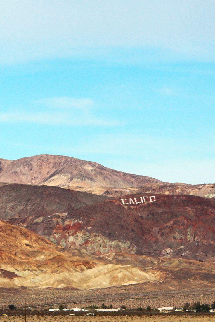 Vai fazer o trajeto de Los Angeles até Las Vegas de carro? Não deixe de conhecer a cidade fantasma de Calico!   #california #calico #roadtrip