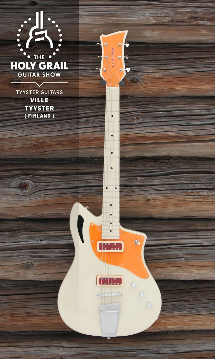 Exhibitor at The Holy Grail Guitar Show 2014: Ville Tyyster, Tyyster Guitars, Finland http://www.tyysterguitars.com http://holygrailguitarshow.com