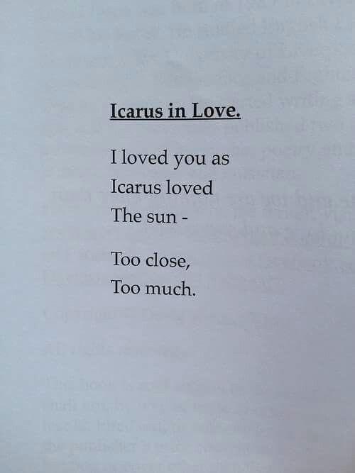 Icarus in Love