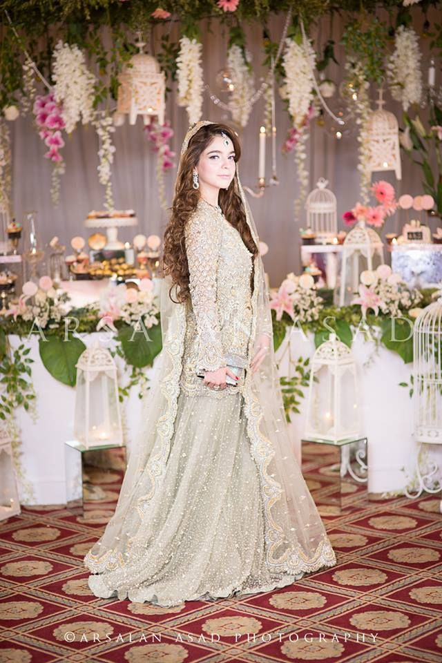 Pakistani Embroidered Lehenga for Wedding Brides