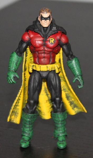 Robin Dc Infinite Heroes Custom Action Figure Custom