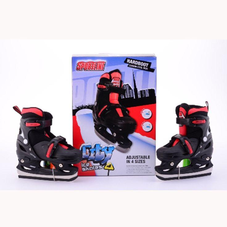 JOHNTOY Sportline Schlittschuhe Jungen, Gr. 30-33, verstellbar #schlittschuh #schnee #eis #eislaufen #wintersport #spaßimschnee #schlitten #schlittenfahren #winterspaß #kinder