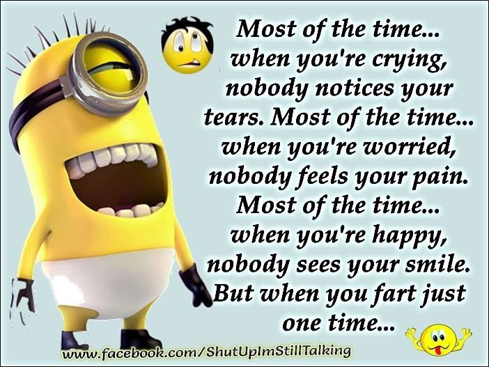 the one time you funny quotes quote fart funny quote funny quotes humor minions