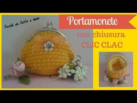 Tutorial  portamonete facilissimo con cliclac-La Fata Tuttofare - YouTube