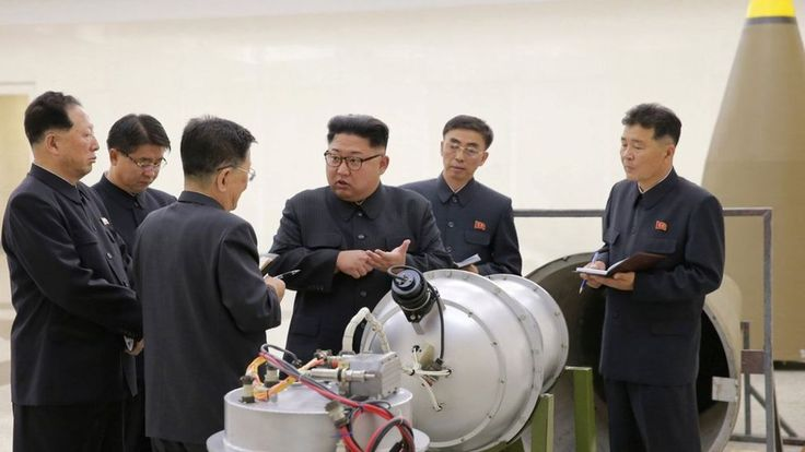 North Korea: Tremor detected in sign of possible nuclear test - BBC News