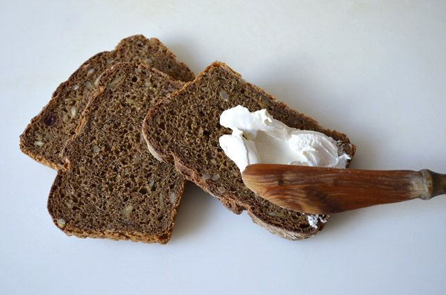 Raw Liquorice Rye Bread by Scandinavian Bread