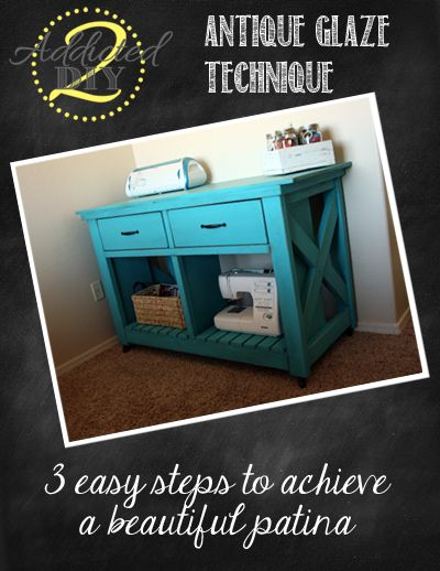 diy furniture refinishing projects. How To Antique Glaze Furniture Diy Refinishing Projects
