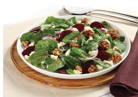 Roast Beetroot & Feta Winter Salad #RoastBeetroot #FetaWinterSalad #WinterSalad