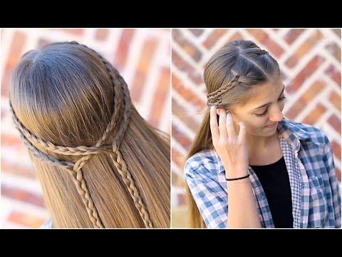 Cute Girls Hairstyles Youtube 277 Best Cute Girl Hair Images On Pinterest  Hairstyle Tutorials