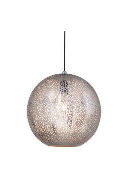 By Rydéns Taklampa Sikri Taklampa Sikri i metall. Diameter 30 cm. Upphänge av plast med takkopp, stor lamphållare E27, max 60W. <br><br>