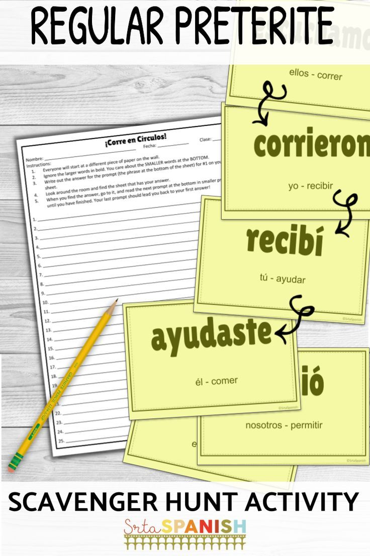 Regular Preterite Verbs Corre En Circulos Activity Digital Included Spanish Lesson Plans High School Spanish Spanish Students [ 1104 x 736 Pixel ]