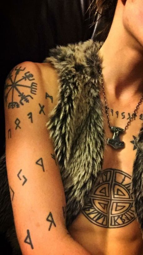 477 best images about norse viking tattoos on pinterest for Viking rune tattoos