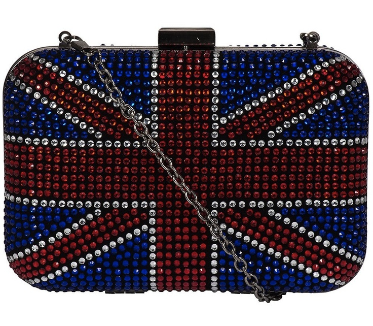 Weekends Obsession: Clutch bandeira Reino Unido, R$156 | Gorgeous Union Jack clutch
