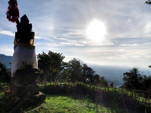 top of gunung tapak