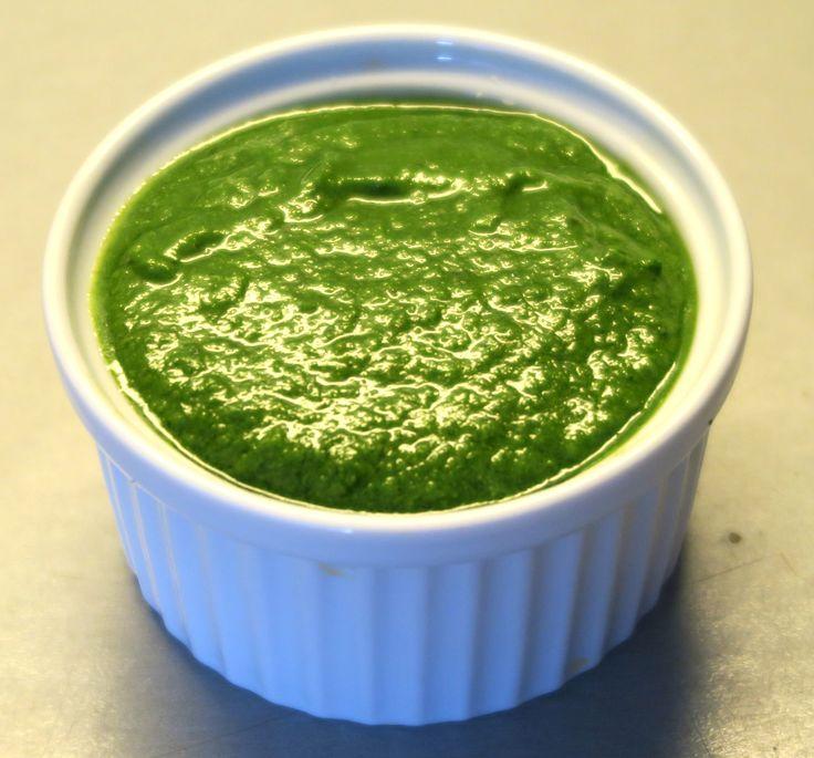 Špenátové pesto / Spinach pesto