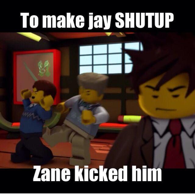 Hahahahaha oh Zane, but seriously sometimes Jay deserves it :P