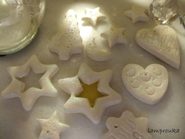 Η καλύτερη ζύμη για τα χριστουγεννιάτικα στολίδια μας! Υπέροχες ιδέες!!! <3