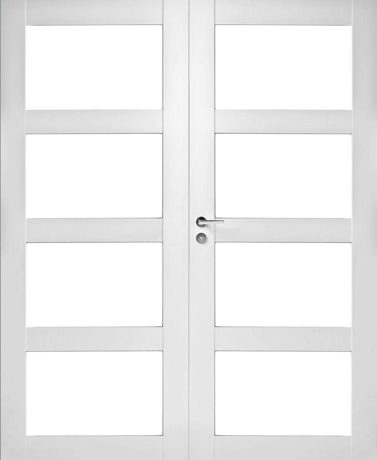 Pariovi lasitettu 4R Jeld-Wen Trend 308 K valkoinen