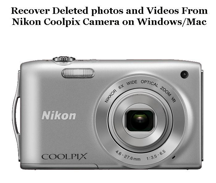 Nikon Coolpix Camera is a well known camera but sometimes the photos and videos saved in this camera can be deleted due accidentally or unintentionally. Learn how to recover those photos and videos very easily.
