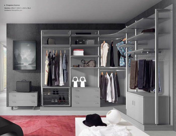 Modulos de armarios vestidores best despensa con paredes - Armarios abiertos baratos ...