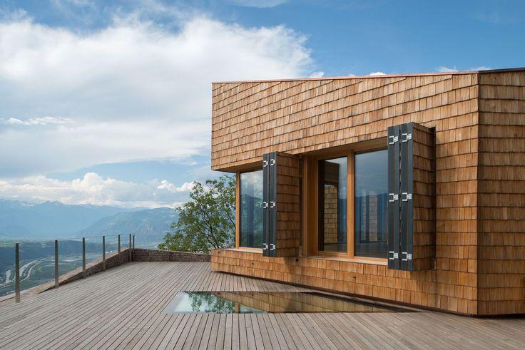 Stiftungsgebäude von Modostudio / Forschen in Südtirol