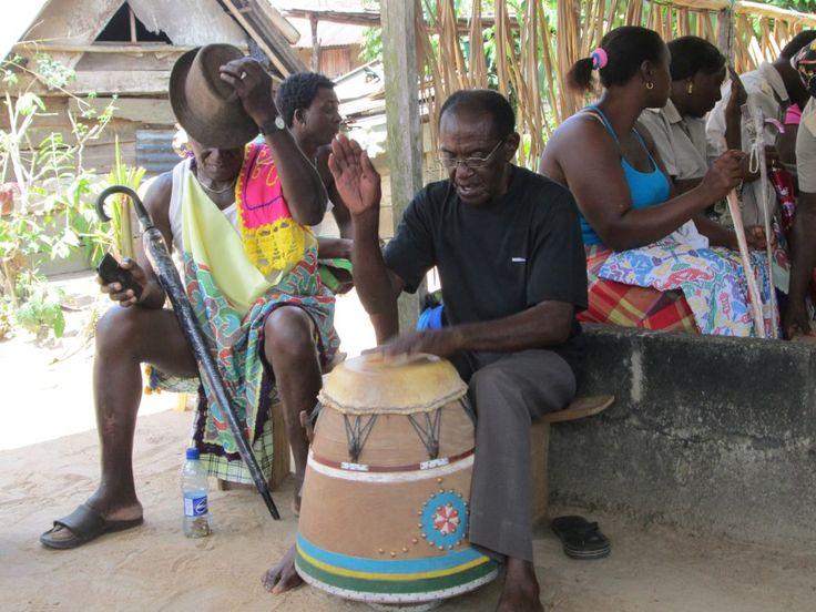 The voice of the drum: Apinti!!