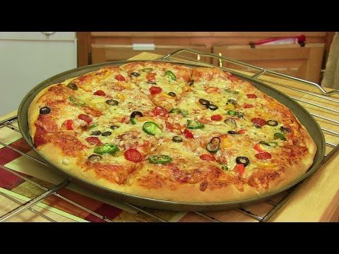 Homemade Pizza Video Recipe | Start to Finish Pizza Recipe with Dough, Sauce and Toppings - YouTube