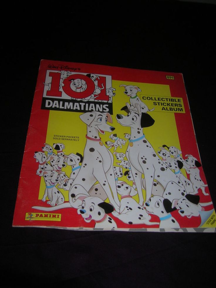 101 Dalmatians Disney Panini Sticker Album