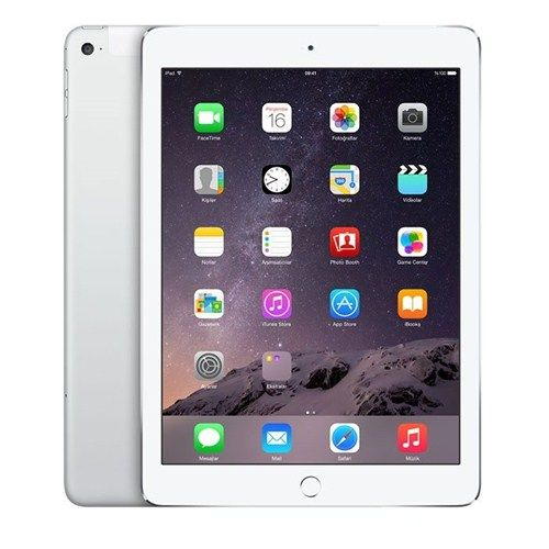 Apple iPad Air 2 16GB 9.7 WiFi Gümüş Retina Ekranlı Tablet MGLW2TU/A http://www.istermisin.com/3_307476_apple-ipad-air-2-16gb-97-wifi-gumus-retina-ekranli-tablet-mglw2tuvea