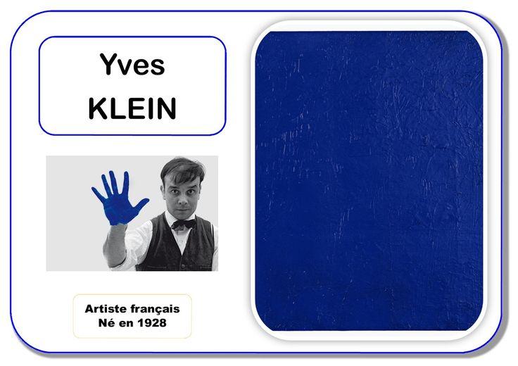 Yves Klein - Portrait d'artiste