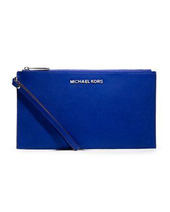 MICHAEL Michael Kors  Large Jet Set Travel Clutch.