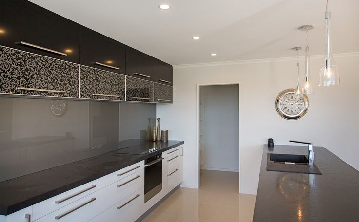Showhome Kitchen | Burwood Christchurch | G.J. Gardner Homes | Gloss Cabinets