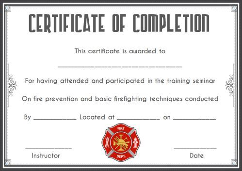 Fire Safety Certificate 10+ Safety Certificate Templates - Template