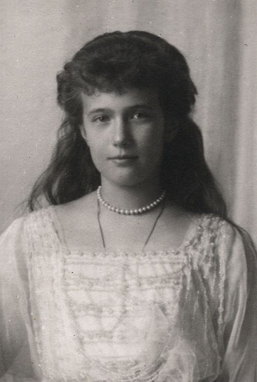 Grand Duchess Anastasia Nikolaevna of Russia.