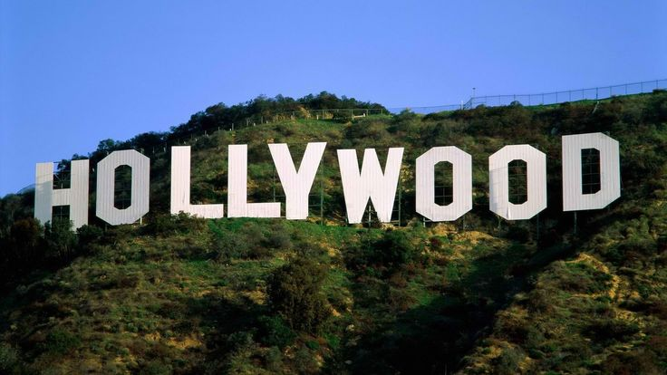 hollywood mountains HD Wallpaper