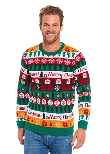 2018 Designs Range Unisex Mens Ugly Christmas Sweater Funny Santa