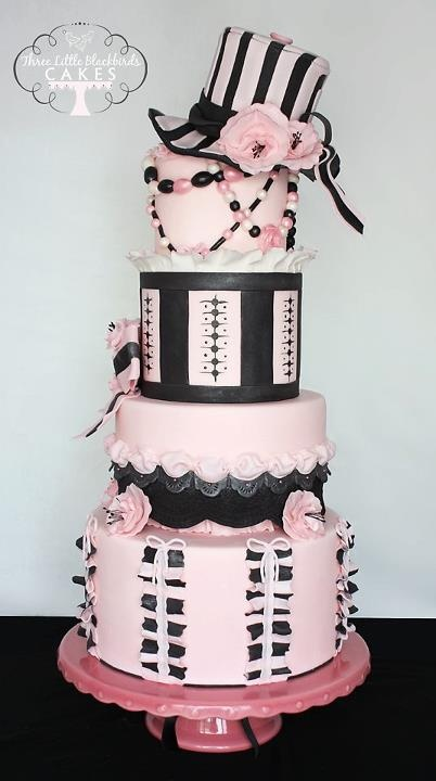 14 best Tiered Birthday Cake Ideas images on Pinterest Tiered