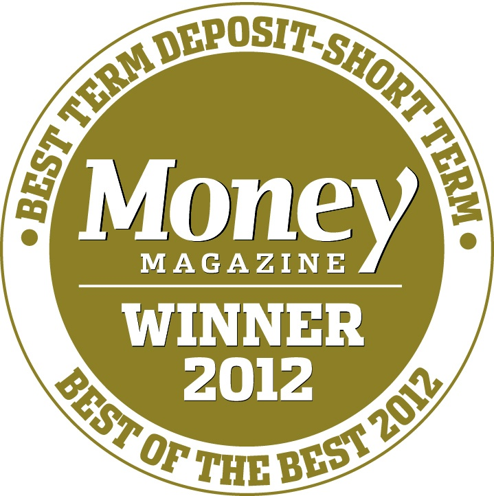 UBank was awarded Best Term Deposit - Short Term Winner 2012 by Money Magazine www.ubank.com.au/ub/web/term-deposits/term-deposits-overview
