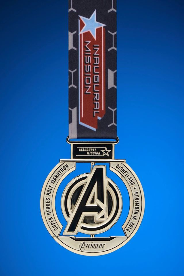 Inaugural Avengers Half Marathon Medals Released!