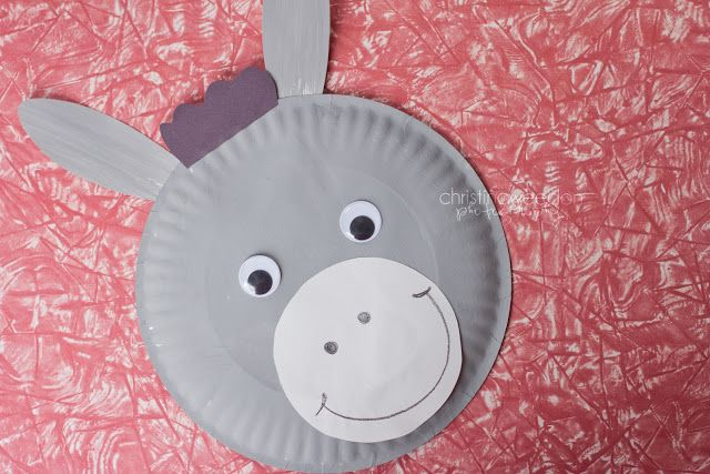 D is for Donkey: Paper Plate Craft - Dandelions on the Wall