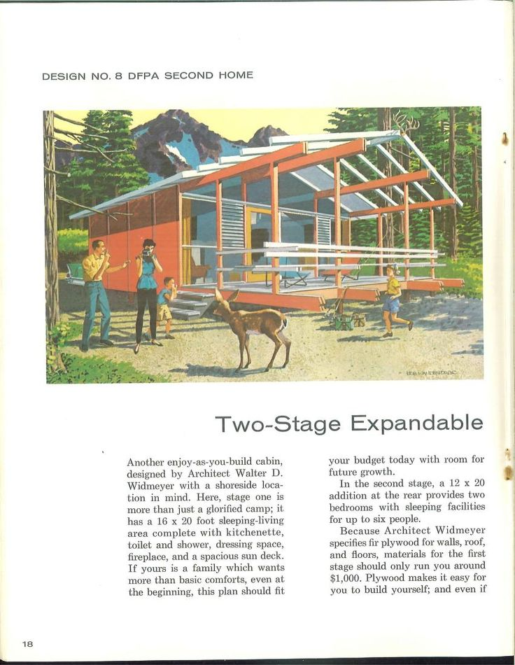 2-Stage Expandable Vacationer 1960: Expanded Vacation, 2Stage Expanded, 2 Staging Expanded
