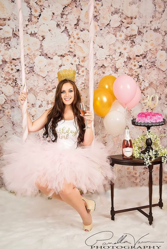 Adult Cake smash tutus Light Pink Adult Tutu with gold glitter by princesstutus2010 #adultcakesmashphotography #adulttutus