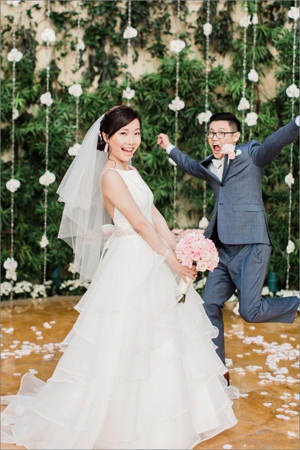 Wynn Las Vegas Destination Wedding Asian Bride Veil Wedding Dress Vegas Wedding Dress Wedding Dress With Veil Wedding Dresses