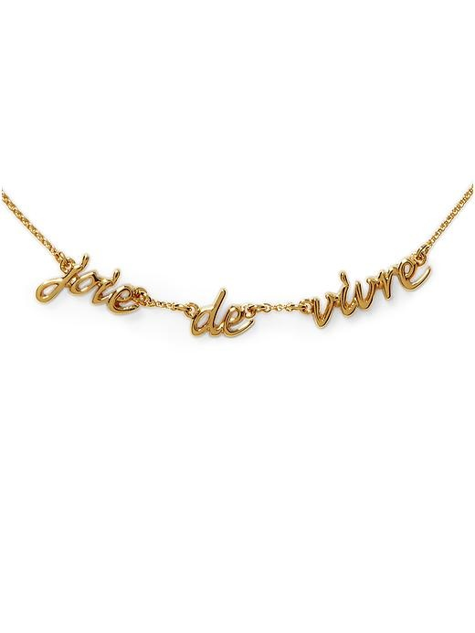 'Joie De Vivre' Necklace. @Brittany Whelan, saw this, shuttered and thought of you! LOL (now I have to go staple something violently and slam a drawer shut!): Thoughts Of You, Joy Of Life, Horton Whelan, Foolery Women S, Jewelry Foolery, Vivre Necklace, Brittany Whelan