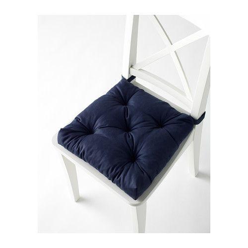 MALINDA Stuhlkissen - blau - IKEA