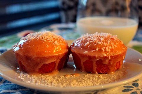 Blood Orange Coconut Cupcakes | Hello, I Love You