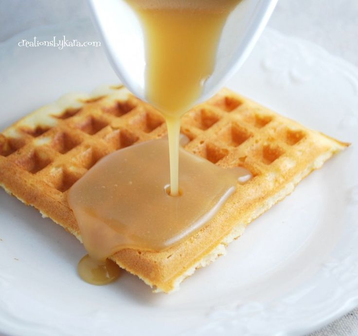 Waffle syrup that will change your life - we have been making this for years and it is DIVINE!.....i'm sold!